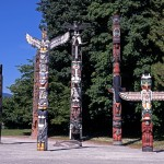 STANELY PARK TOTEMS